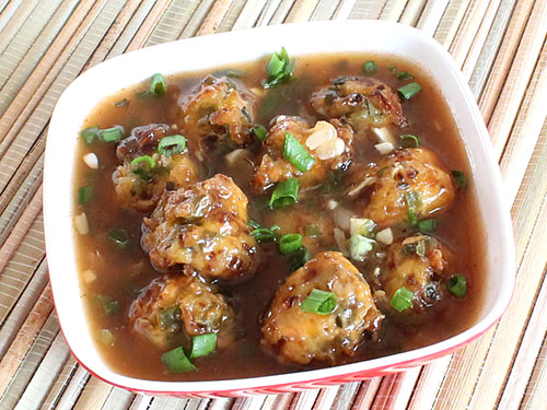Vegetable Manchurian Gravy