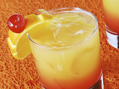 Alabama Slammer - Classic Cocktail Drink with Southern Comfort and ...