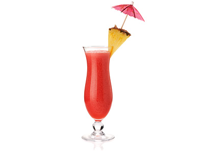 Hurricane Drink Recipe - Sweet Passion Fruit Flavored Dark and White ...