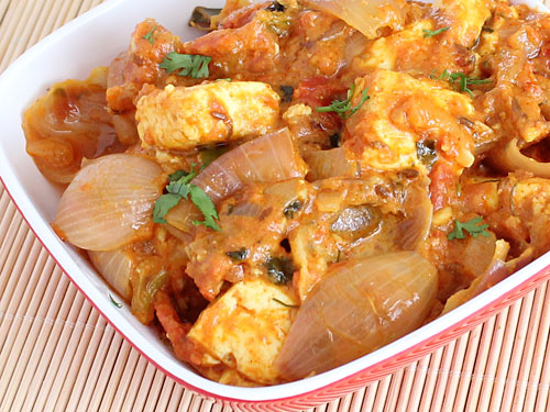Spicy Paneer Do Pyaza