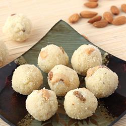 Rava Laddu with Coconut
