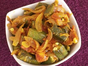 Easy Bhindi Do Pyaza Recipe - Spicy Stir-Fried Okra and Onion Curry