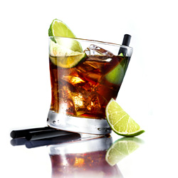 Cuba Libre Drink (Rum and Coke)
