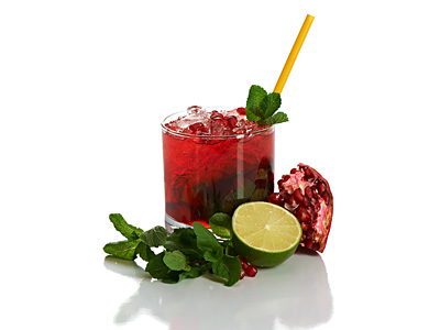 Pomegranate Cocktail Recipe - Fruity Mixed Drink for Holiday Parties