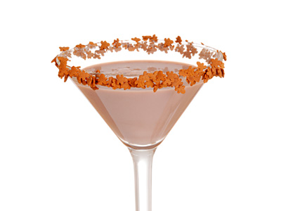 Creamy Gingerbread Martini Drink