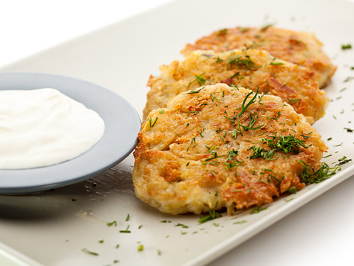 Mashed potato pancakes recipes