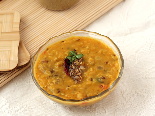 Yellow Dal with Tadka