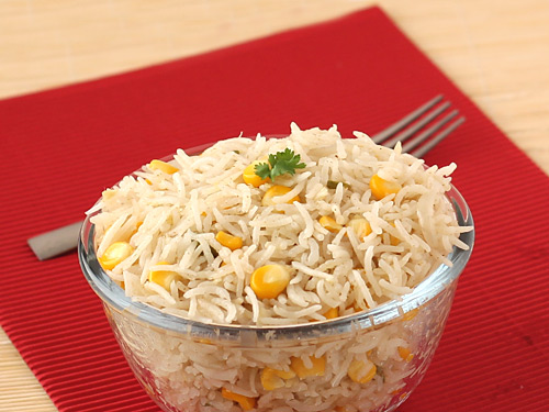 Healthy Corn Pulao