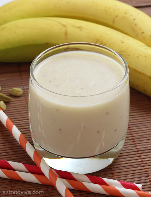 Banana Smoothie without Yogurt for Kids