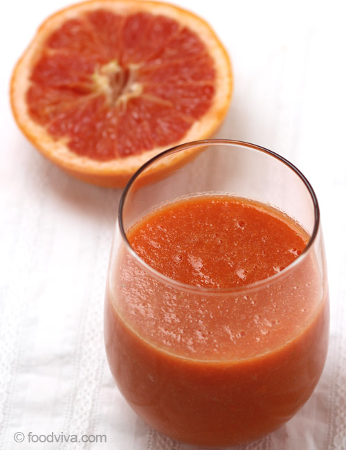 Grapefruit Smoothie Recipe