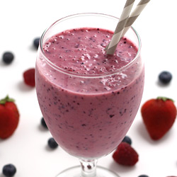 yogurt smoothie orange and banana yogurt smoothie mixed berry smoothie ...