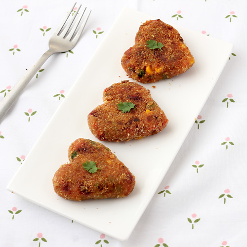 Mix Veg Cutlet for Kids