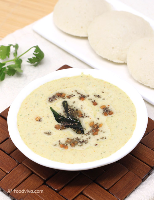 Groundnut Chutney for Idli