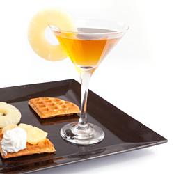 Pineapple Coconut Martini