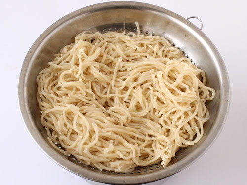 How to boil perfect noodles