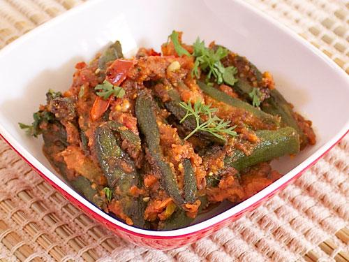 Stuffed Masala Bhindi