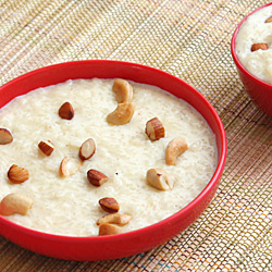 Rice Kheer with Condensed Milk