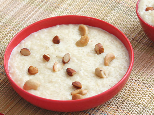 Rice Kheer with Condensed Milk