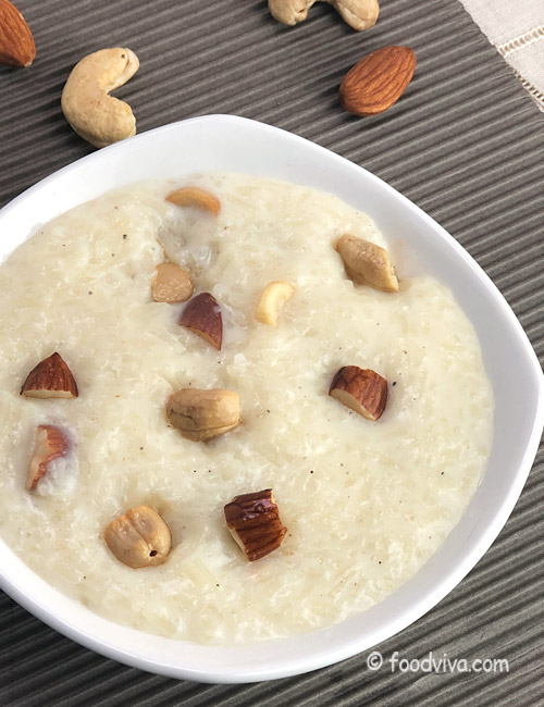 How to Make Kheer Fast at home