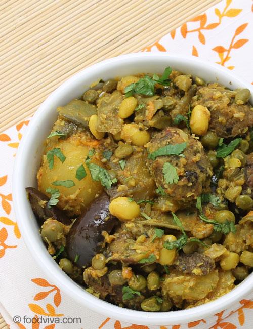 Gujarati Undhiyoo Recipe