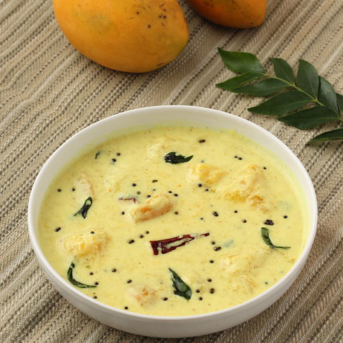 Kerala style Curd Based Mango Curry