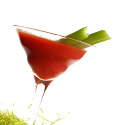 Bloody Mary Martini