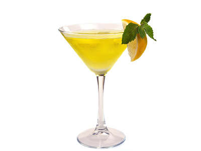 Ginger Vodka Martini