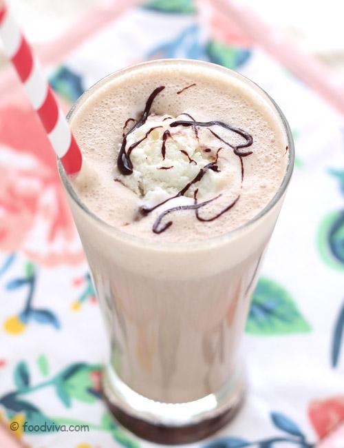 Coffee Shake with Ice Cream