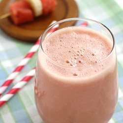 Watermelon Smoothie with Yogurt